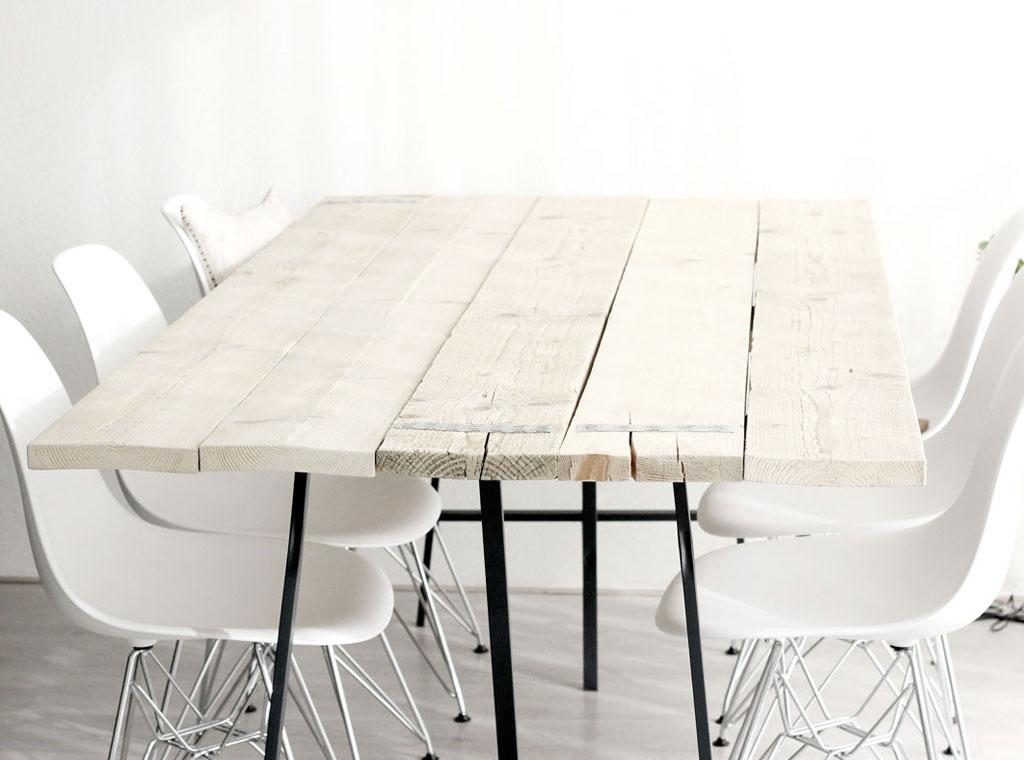 Zo doe je dat zelf tafel maken het is eenvoudig for Zelf tafel maken